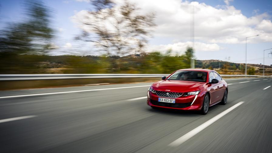 """<p>""""Животът е прекрасен"""" в Peugeot 508 (тест драйв)</p>"""