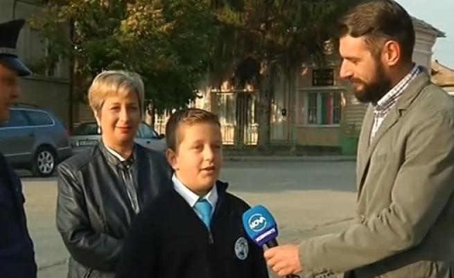 Петокласник помогна на полицията да залови крадци