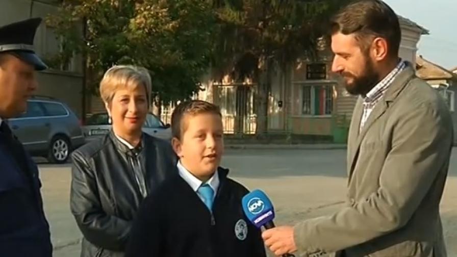 <p>Петокласник помогна на полицията да залови крадци</p>