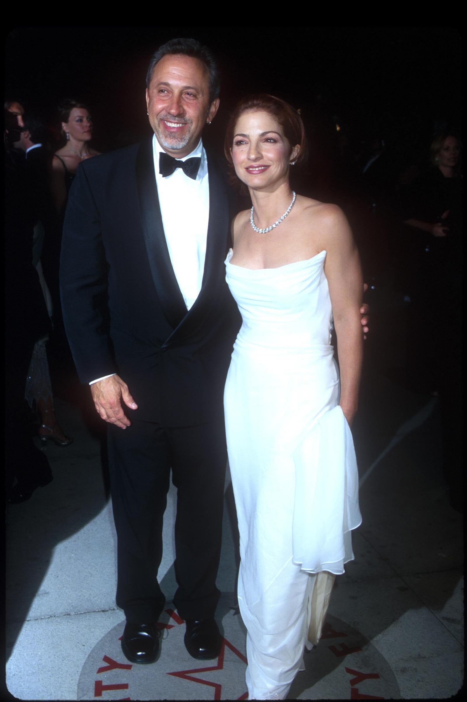 Глория и Емилио Естефан (2000 г.)