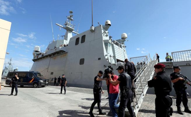 Българин задържан на кораб с 1400 кг кокаин