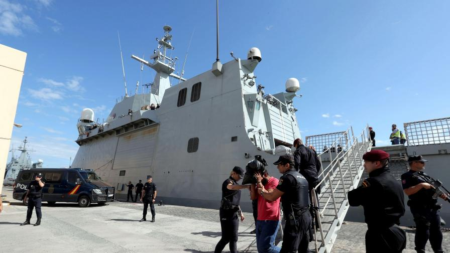 <p>Българин задържан на кораб с 1400 кг кокаин&nbsp;</p>