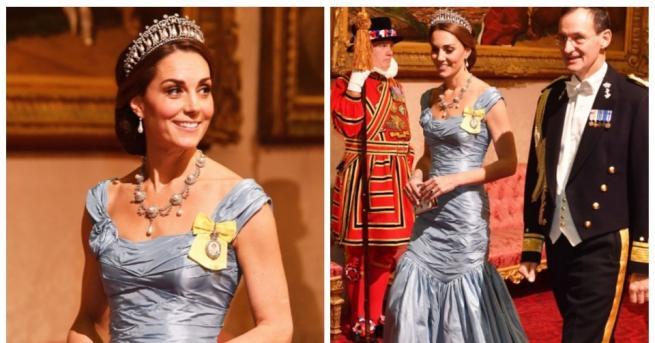 Любимата ни херцогиня Кейтотново влезе в ролята на приказна принцеса