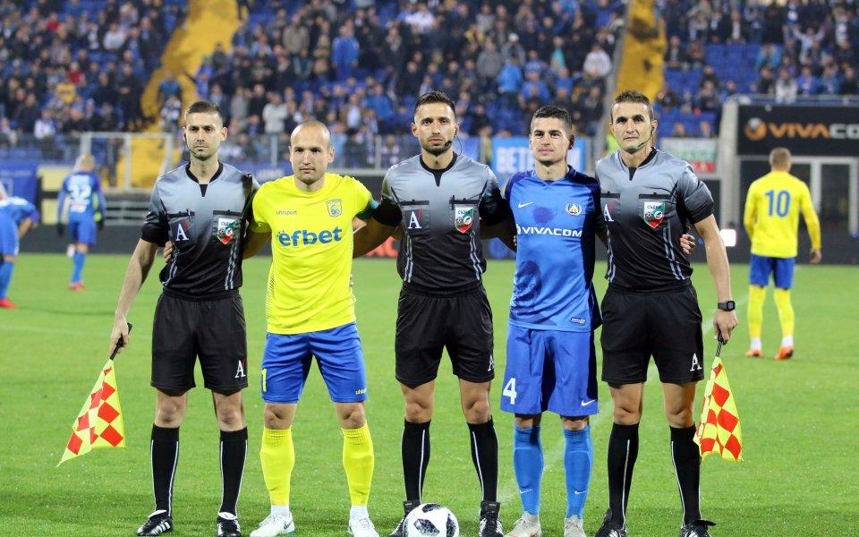 Снимки от головото шоу на Левски срещу Верея