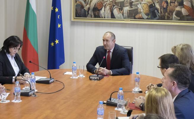 """БСП показа """"Визия за България"""" на президента"""