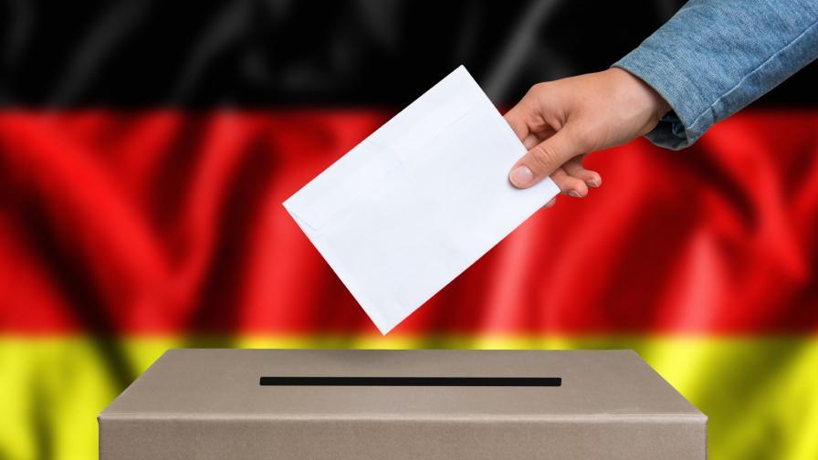 <p>Екзит пол: Партията на Меркел с тежки загуби в Хесен</p>