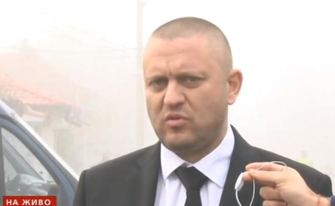 Жандармерия в Мъглиж след нападението над полицаи