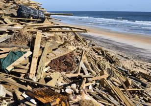 Сериозни щети в САЩ след урагана Сали