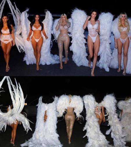 Ах, тези Кардашиян. Популярните сестри за пореден път успяха да са в центъра на вниманието. Ким, Клои и Кортни Кардашиян и полусестрите им Кайли и Кендъл Дженър пуснаха кадри от съвместната си фотосесия, от които се вижда, че момичетата са новите ангели на Victoria's Secret. Или поне ...