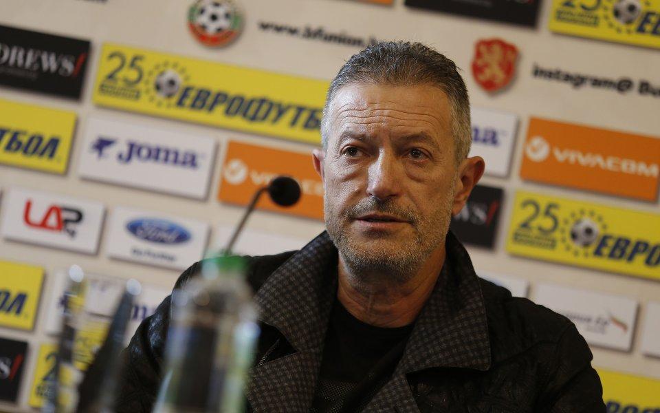 Снимка: Шефът на съдиите се закани на Стефан Апостолов