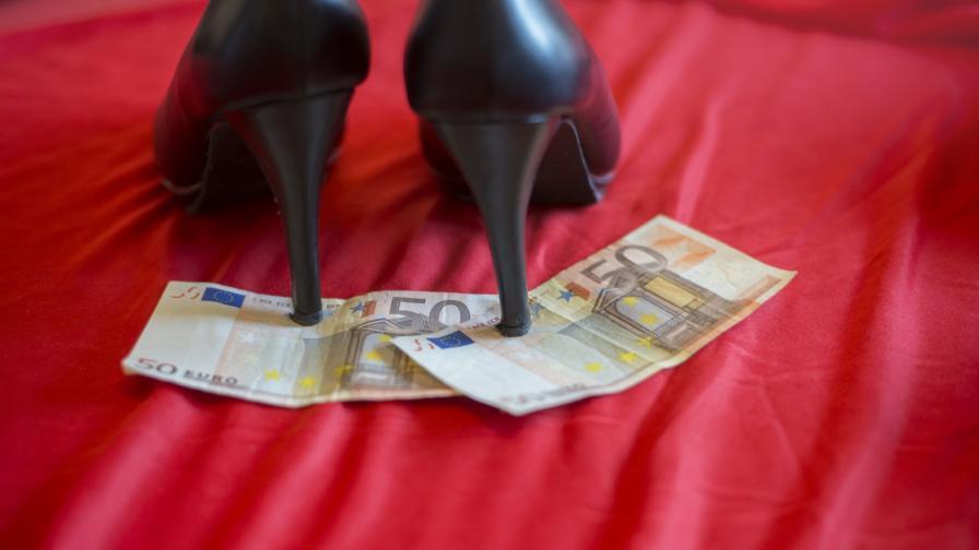 Първите изгубени снимки на проститутки