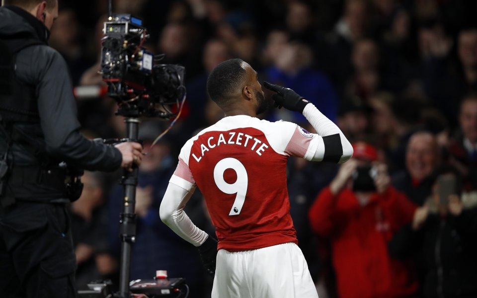 Нападателят на Арсенал - Александър Лаказет е възстановен от травмата