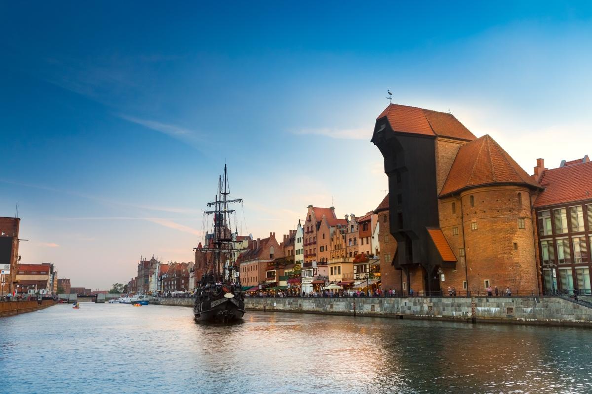 Това е Журава - средновековното пристанище на Гданск.