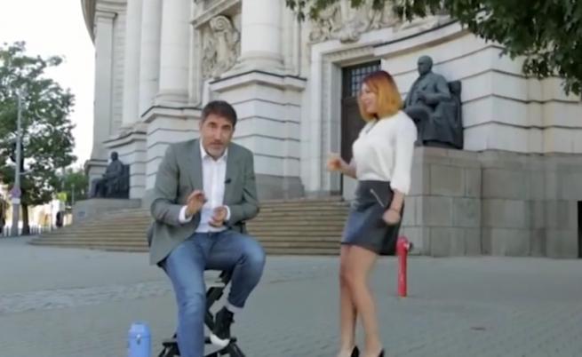 "Реклама на телевизия ""Алма матер"" възмути интернет"