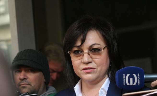 Корнелия Нинова: Знаем, че ГЕРБ ги е страх от служебен кабинет на Румен Радев