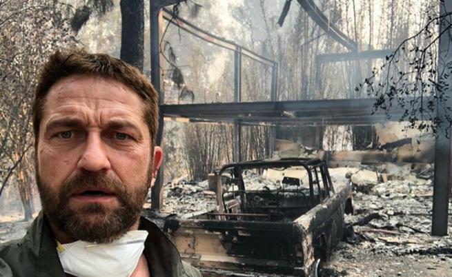 Огън и пепел: звездите, останали без дом след пожарите в Калифорния