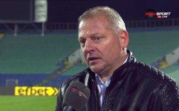 Петков Петков: Заслужена точка, направихме промени на почивката