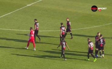 Меле беляза края на Славия - Локомотив Пловдив 1:1