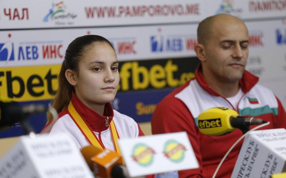 Ивет Горанова мечтае за олимпийска квота в каратето