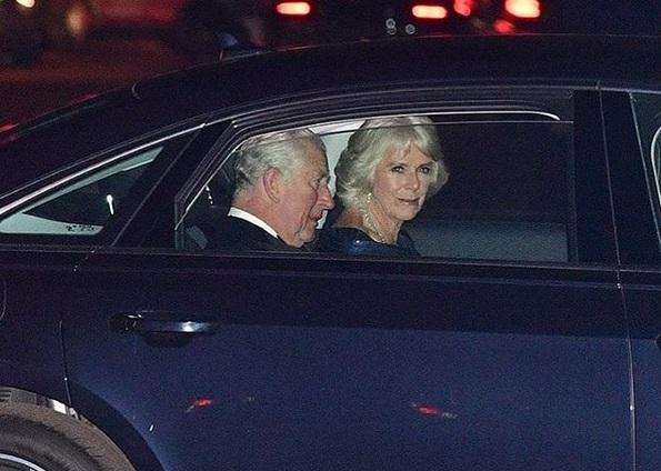 Рожденикът принц Чарлз и съпругата му Камила