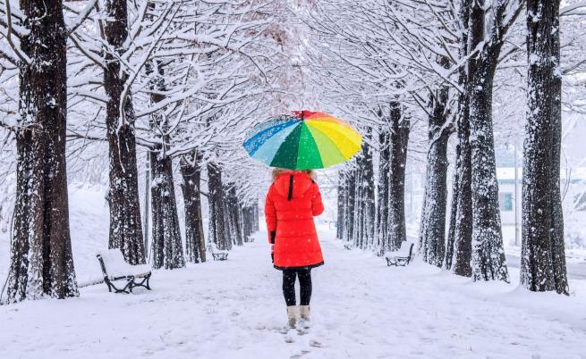 Опасно време: жълт код за сняг и дъжд в неделя