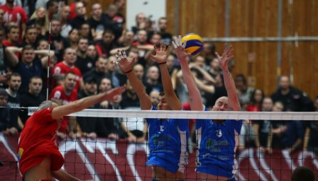 ЦСКА спечели волейболното дерби срещу Левски