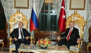 Путин: Русия и Турция ще достигнат 100 $ млрд. годишно