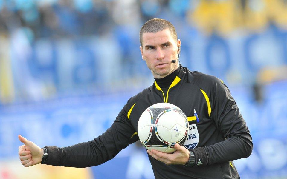 Престижен наряд от УЕФА за Георги Кабаков