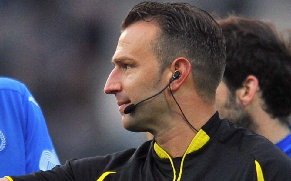Ивайло Стоянов ще ръководи дербито във Втора лига