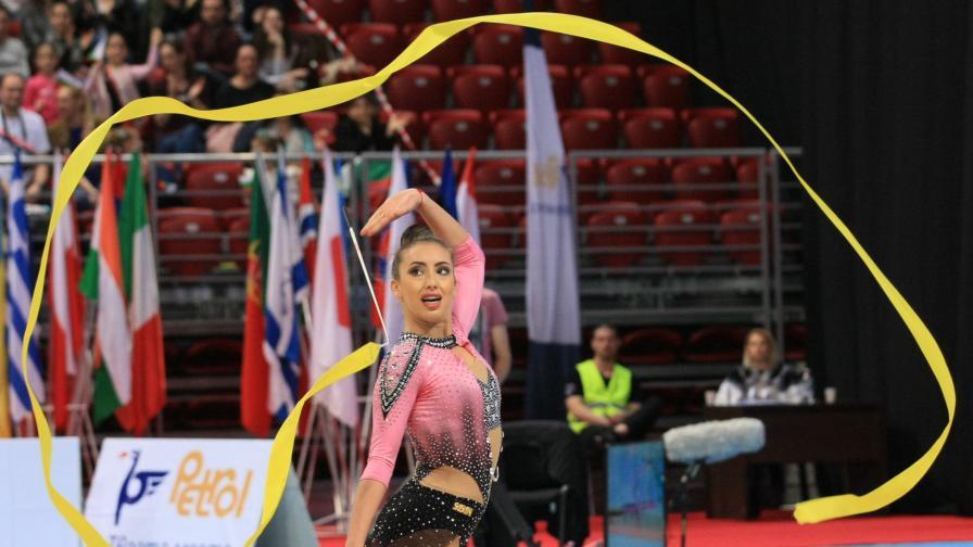 Златното момиче Катрин Тасева продава медала си