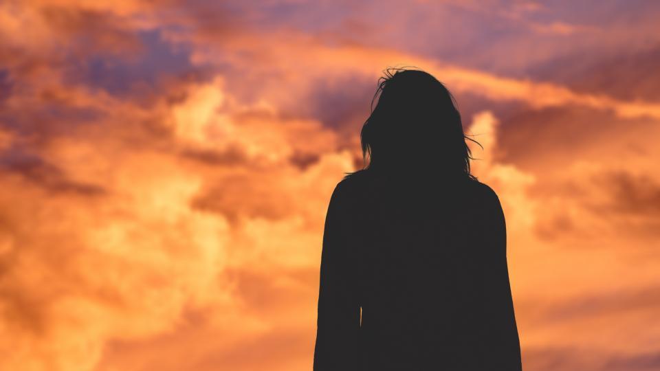 жена небе депресия