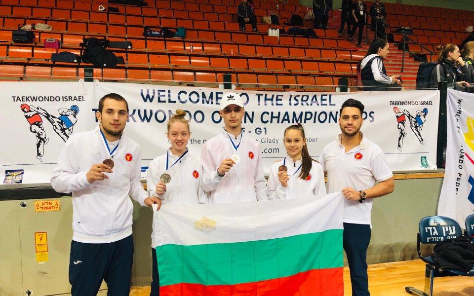 Българските таекуодисти превзеха Израел, Слави Бинев на финалите в ОАЕ