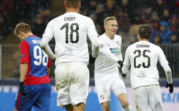 Роман Прохазка и Виктория отпаднаха от Лига Европа
