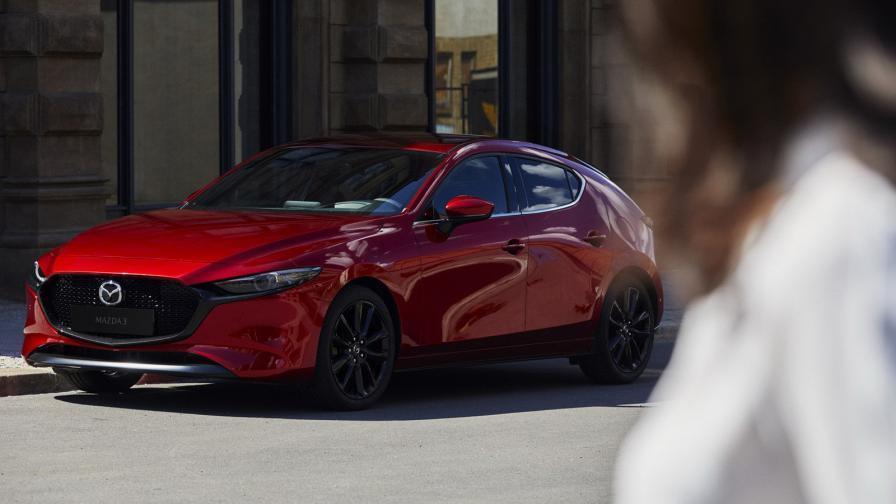 <p>Новата Mazda3 е красавица</p>