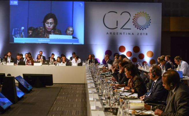 Започва срещата на Г-20, Меркел пропуска откриването