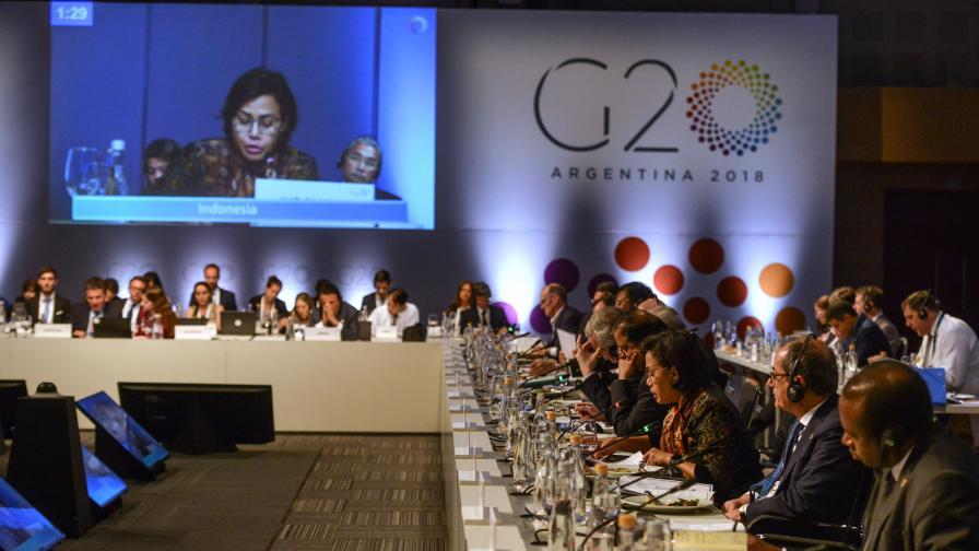 <p>Споровете за климата, Русия и Украйна, надвиснали над Г-20</p>