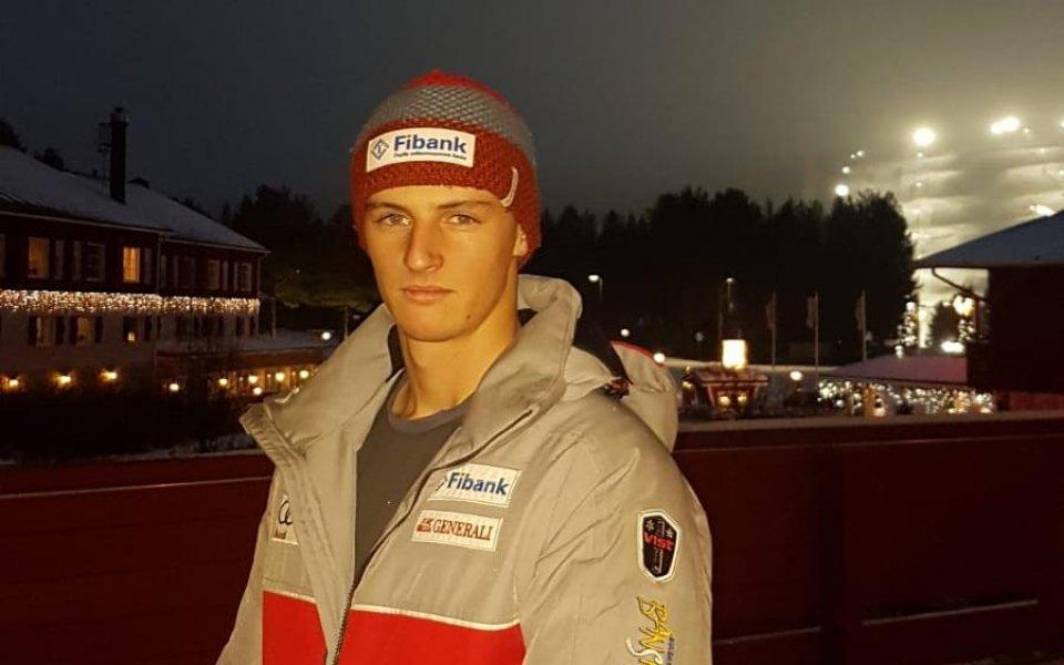 Камен Златков с рекорд в Европейската купа