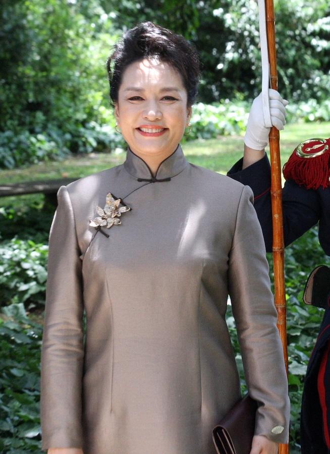 Пън Лиюен, съпругата на китайския президент