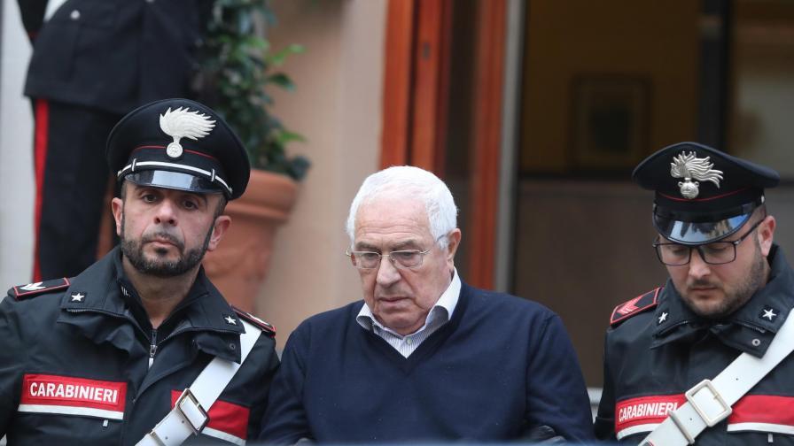 Удар по италианската мафия, арестуваха новия бос