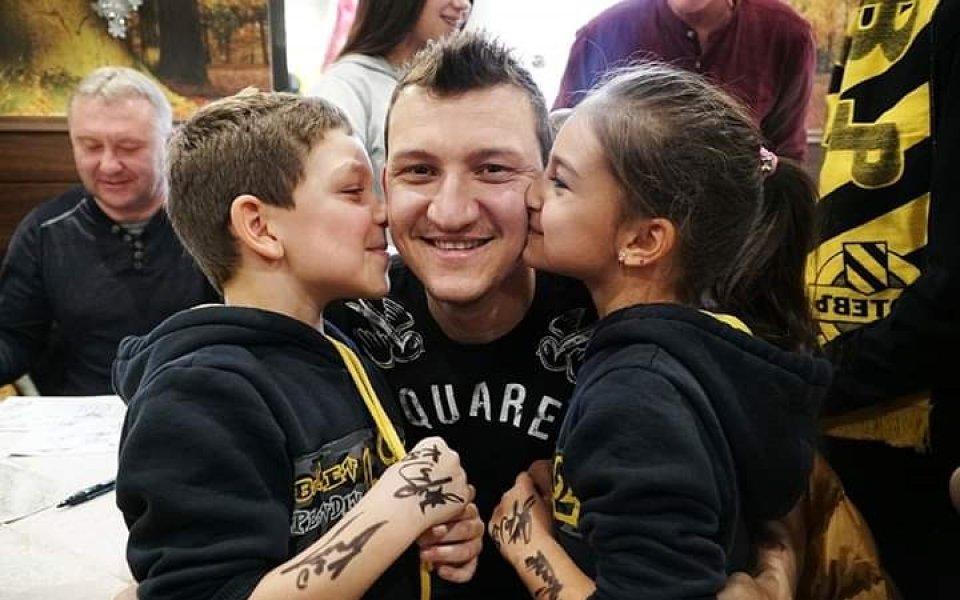 Асовете на Ботев Пловдив зарадваха малките ботевисти
