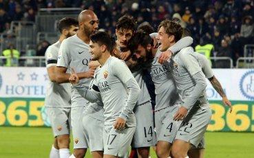 Футболистите на Рома с наказание след резила