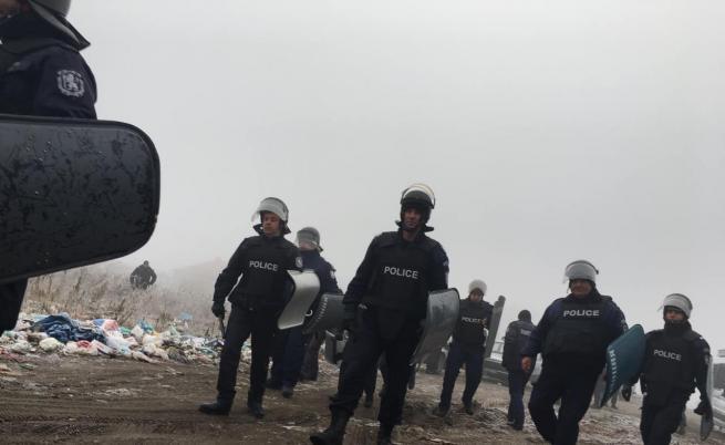 Акция в Хан Аспарухово, селото беше блокирано