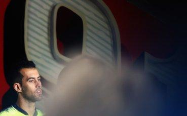 Серхио Бускетс влезе в клуб 100 на Шампионска Лига