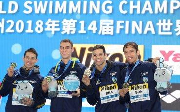 Рекорд след рекорд падат на Световното по плуване