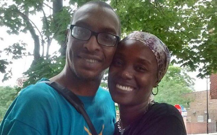 Али-младши със съпругата си в едни щастливи времена