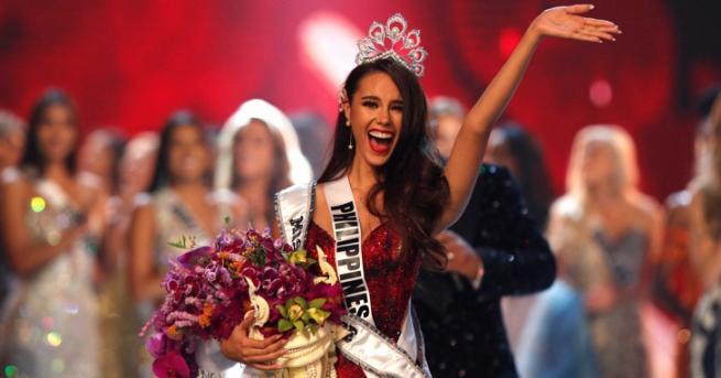 Представителката на Филипините Катриона Грей победи в 67-то издание на
