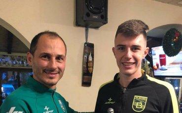 Феновете избраха Лъчо Котев за Футболист на годината за Витоша