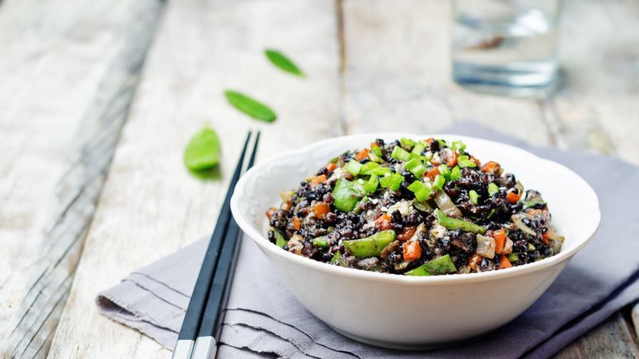 Черният ориз - защо е толкова полезен