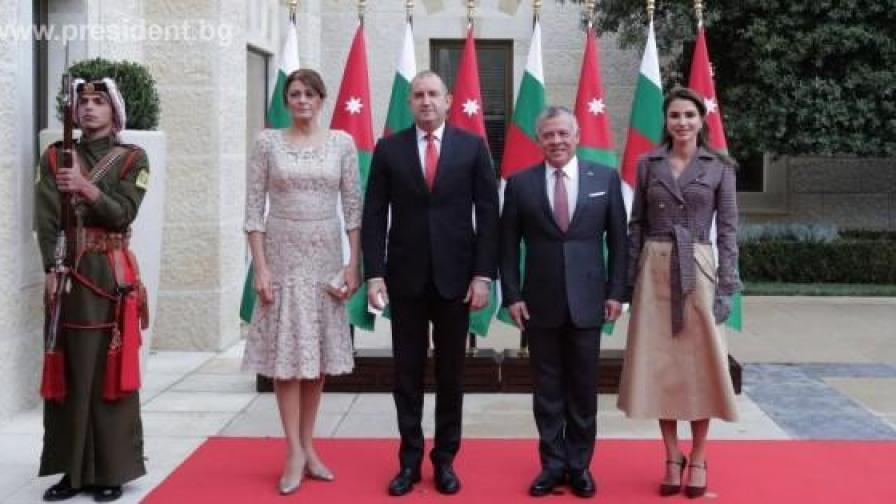 Десислава Радева и кралицата на Йордания...