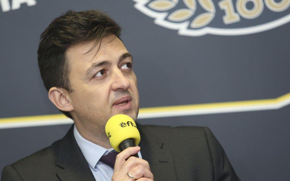 Бившият изпълнителен директор на Левски Красимир Иванов не пожела да